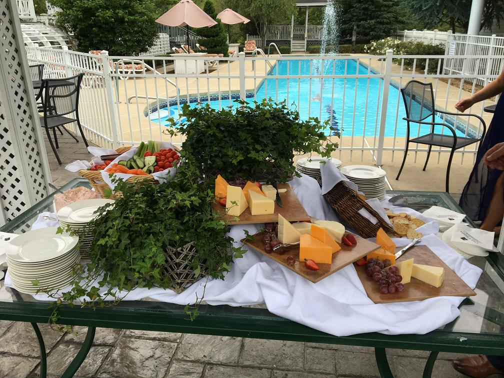 Assorted Cheese and Cracker Display