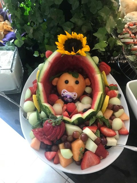 Awesome Our Executive Chef Alicia Made This For The Baby Shower. When The Director  Of Catering Came Into Our Commissary He Noticed That Alicia Had Put In A  Pink ...